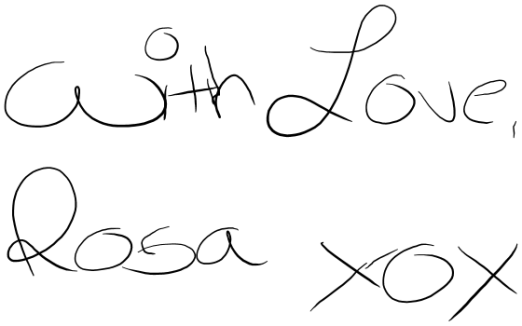 with-love-rosa-xox