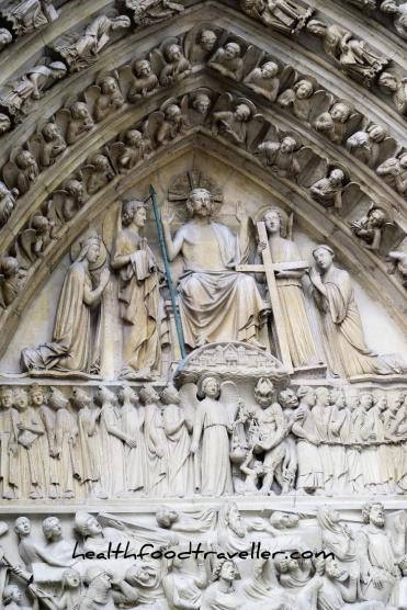 Notre Dame Door detailled 2
