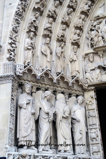 Notre Dame Door detailled 3