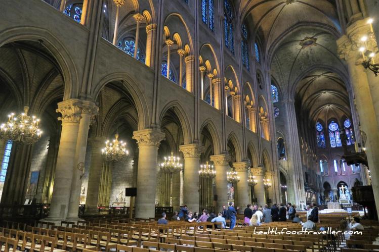 Notre Dame Indoor chapel