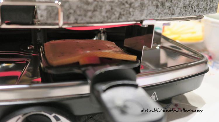 Raclette in den Ofen