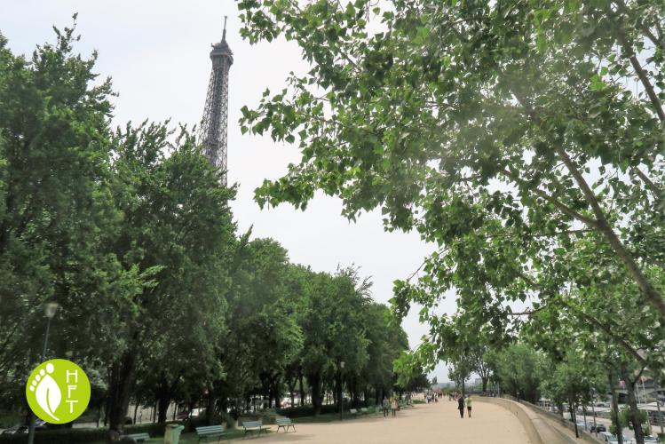 Break close to Eiffel Tower
