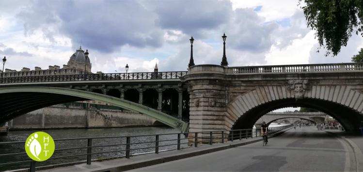Paris bridge Pont Notre Dame