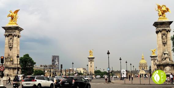 Paris Pont Alexandre III Fames 1