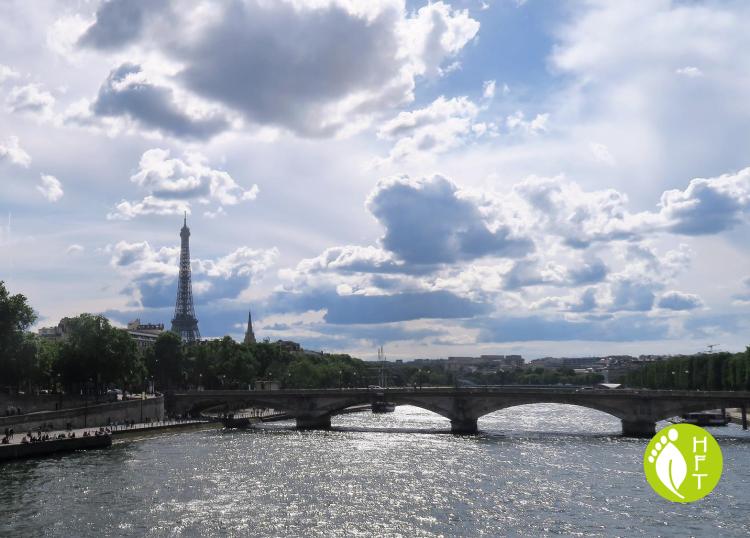 Paris Pont des Invalides Eiffel Tower