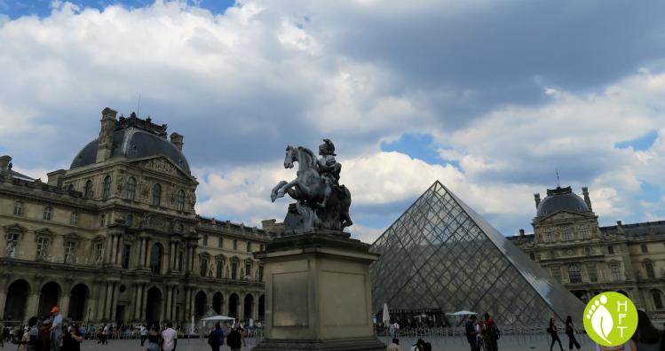 Paris the Louvre Museum