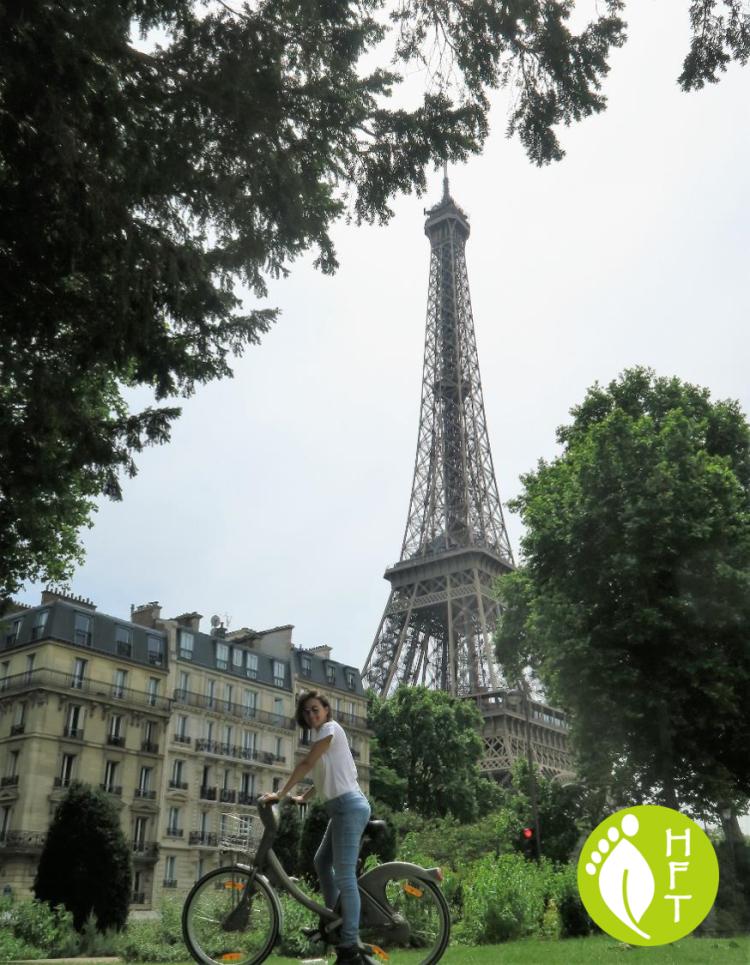 Paris Park view Eiffel Tower