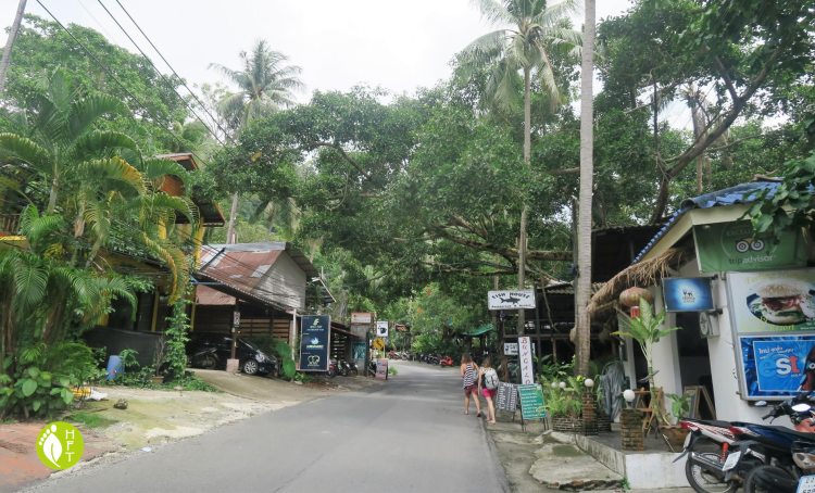 Koh Chang Loneley Beach main road Koh Chang 1