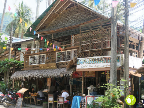 Koh Chang Loneley Beach Soi Tian Chai Cafe del Sunshine