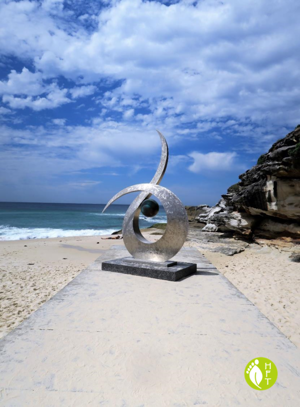 Sydney Sculptures by the Sea Sculpture Entwined by Ben Fasham