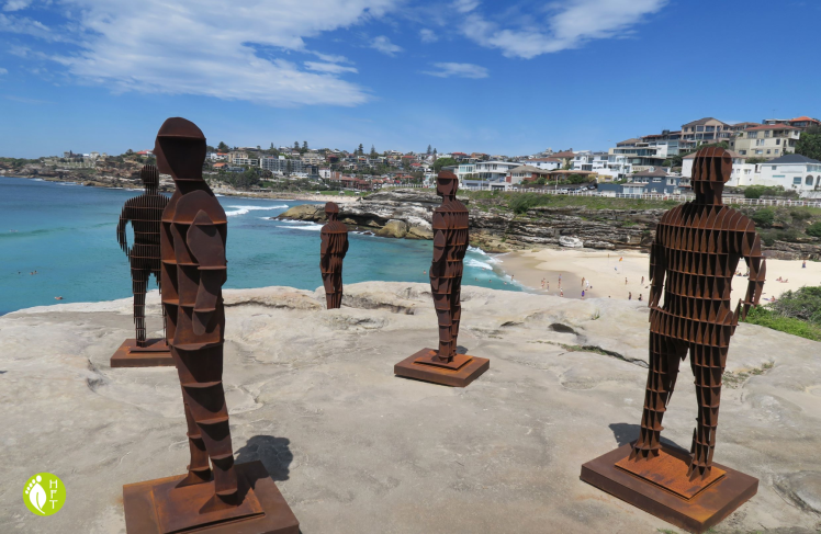 Sydney Sculptures by the Sea Sculpture Shifting Horizons by April Pine 3